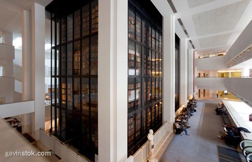 London British Library Interior