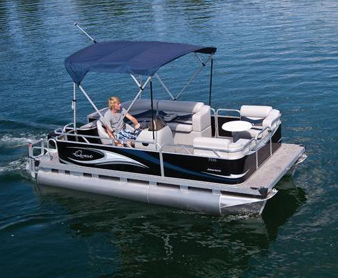 7516 CD Small Electric Pontoon Boat | 16' small pontoon ...
