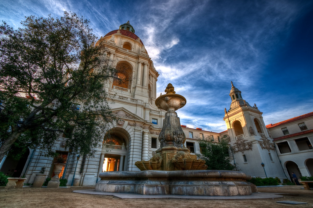 Pasadena City Hall View On Black Michael Chen Flickr
