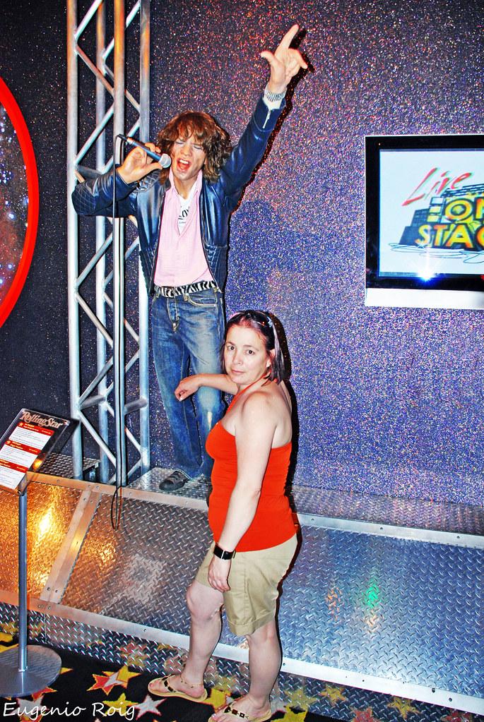 Mini Las Vegas >> Mick Jagger at Madame Tussaud's Wax Museum in Las Vegas Ne ...