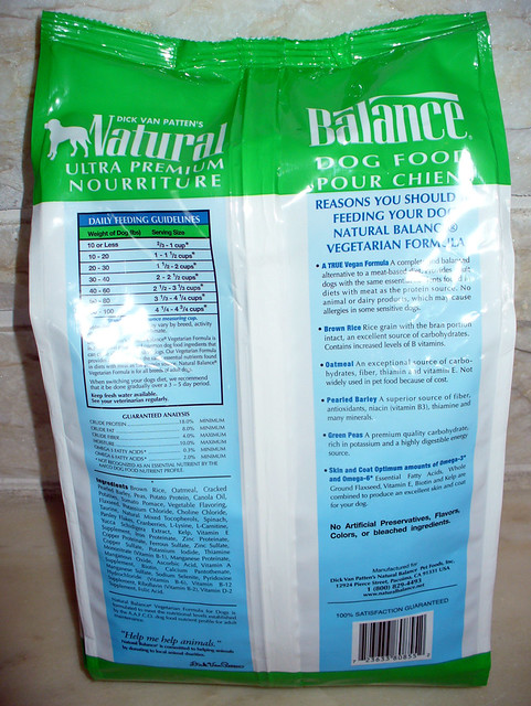 Natural Dog Food With Omega