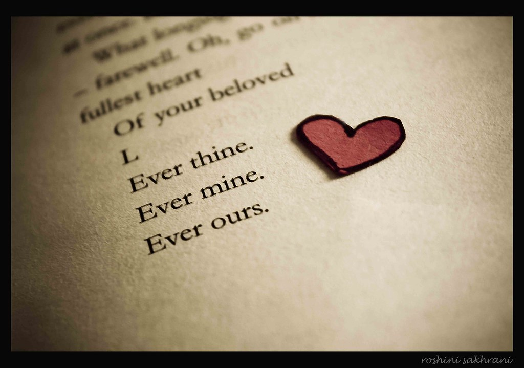 3 30 Ever Thine Ever Mine Ever Ours