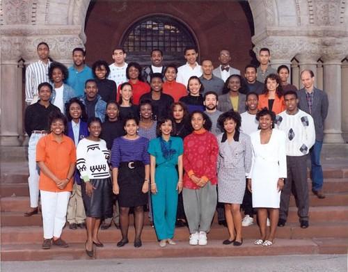 Hill Harper And Barack Obama Class Pic Hsl Hill Harper