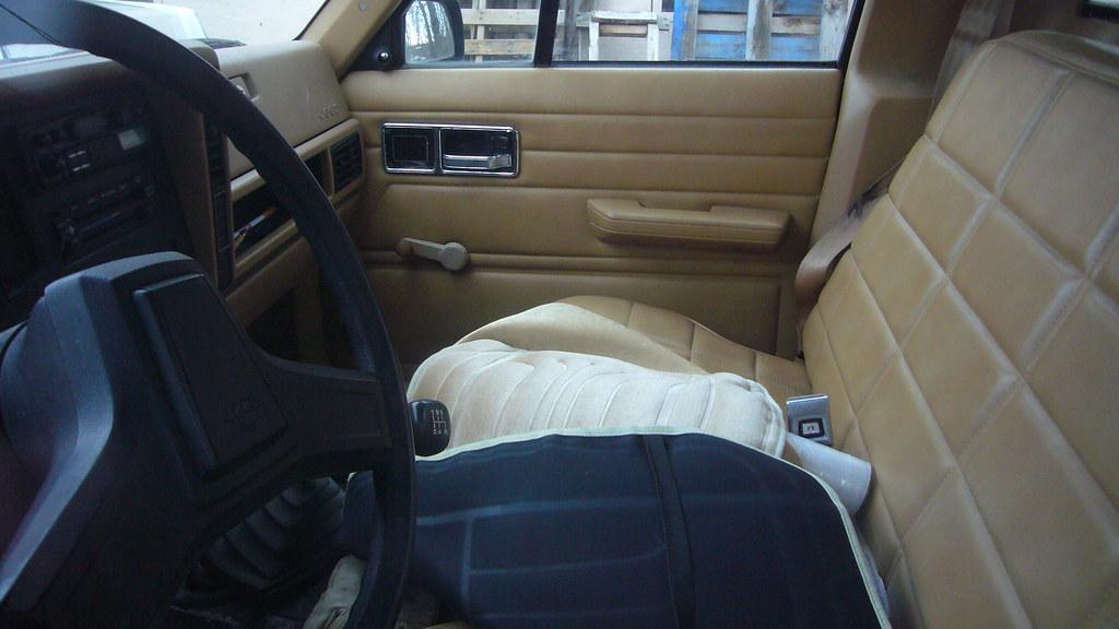 Jeep Comanche Interior