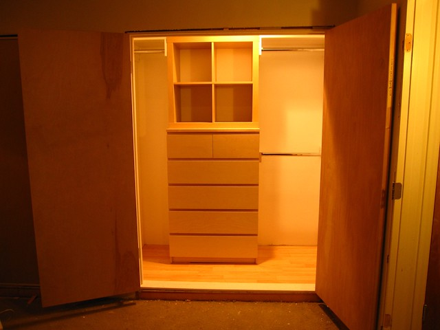 Closet After Rather Than Spend 700 On A Cheesy System