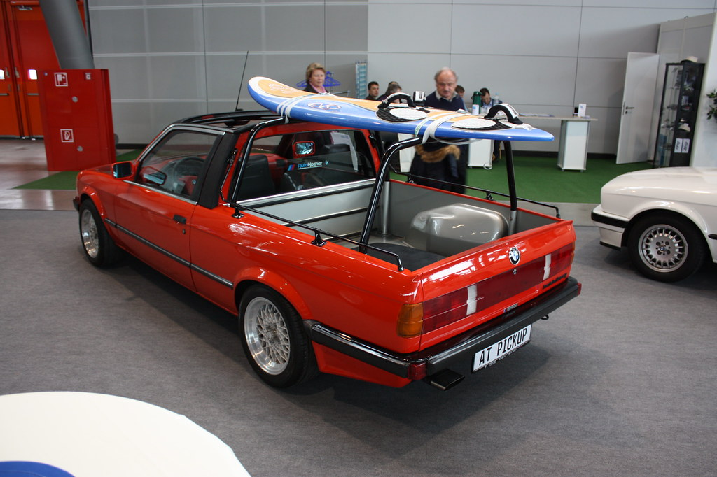 baur at pickup bmw e30 pick up umbau retro classics flickr. Black Bedroom Furniture Sets. Home Design Ideas