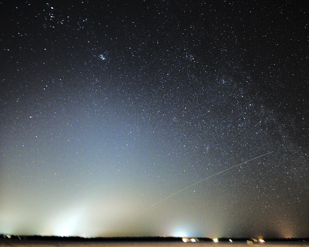 Zodiacal Light Over Cumberland Beach Spirithands
