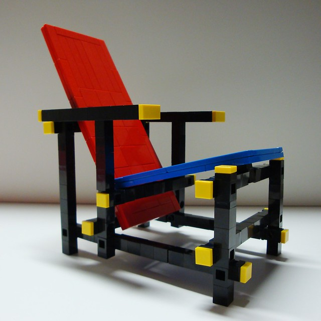 Red White And Blue >> Gerrit Rietveld - Red / Blue chair | Matija Grguric | Flickr