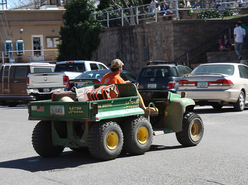 John Deere Gator >> John Deere Gator 6x4 Diesel | The Town of Jerome uses this ...