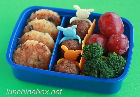 Risotto cake bento for kindergartener | by Biggie*