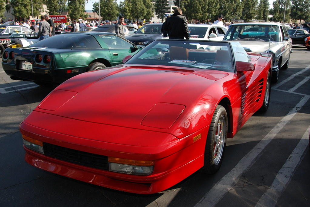 chevy corvette w ferrari testarossa body kit navymailman flickr. Black Bedroom Furniture Sets. Home Design Ideas