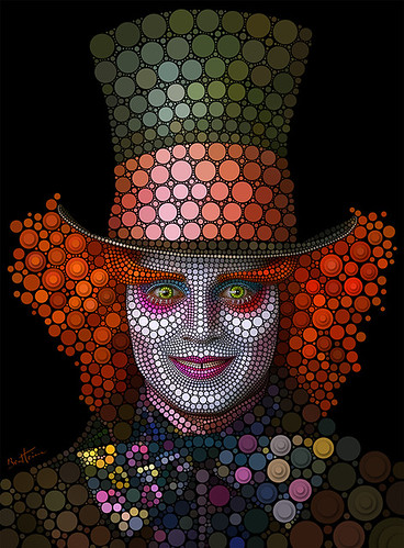 Mad Hatter - Johnny Depp | by Ben Heine
