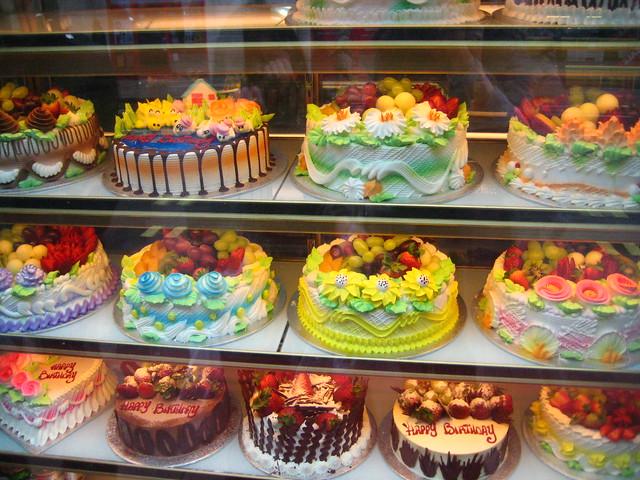 Birthday Cake Shop In Chinatown