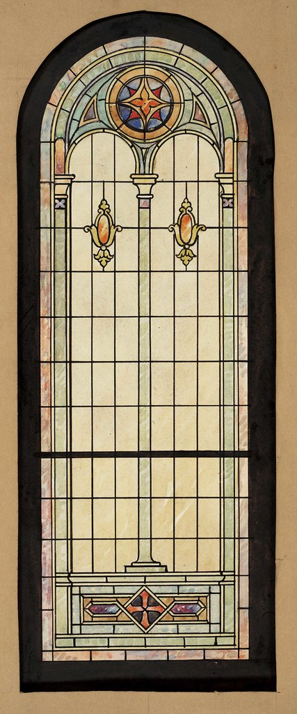 Stained glass window design stained glass window designs for Window glass design 5 serial number