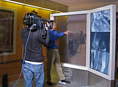 Intel shows future of digital signage to CBS Interactive