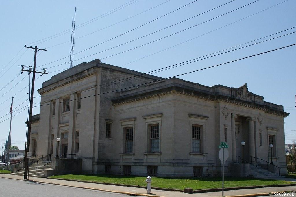 Old U S Post Office Vincennes Indiana Vincennes Poli