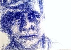 JK  -  pen portrait by razor_nl