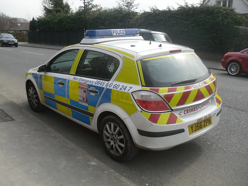 North Yorkshire Police - Vauxhall Astra (YJ56 ZPN) | by Police_Mad_Liam