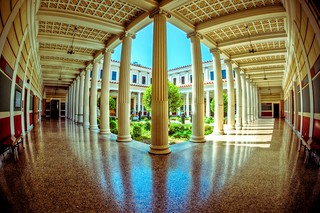 Getty Villa (Inner Peristyle)  [Explored] | by Mike Chen aka Full Time Taekwondo Dad