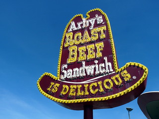 Arby's Roast Beef Sign | by Ethan Prater