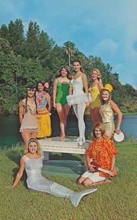 Underwater Dream Girls - Weeki Wachee, Florida | by The Cardboard America Archives