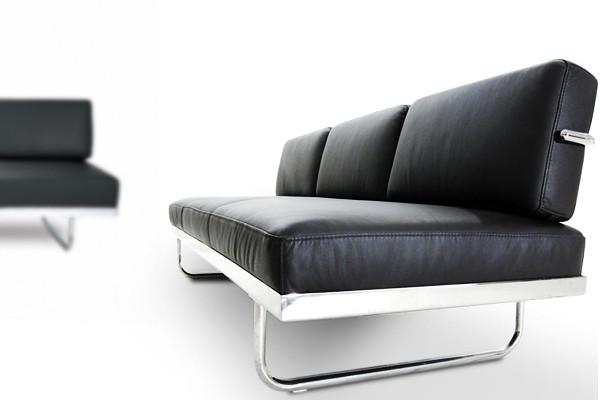 ... Manhattanhomedesign LC5 Futon Bed   Le Corbusier Sofa | By  Manhattanhomedesign