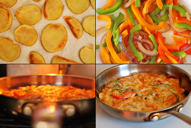 spanish tortilla plus | Large On Black adapted from Spanish ...