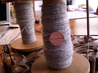 Stansborough Grey Handspun singles | by indigomuse