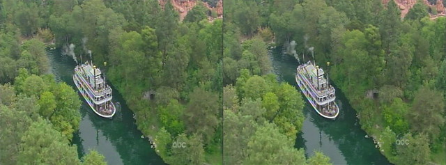 3d aerial view of the s s mark twain sternwheel packet steamboat