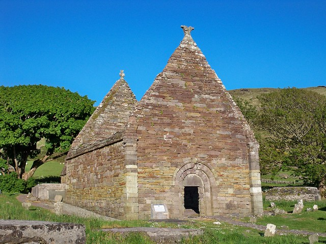 Kilmalkedar Church Dingle peninsula Co. Kerry