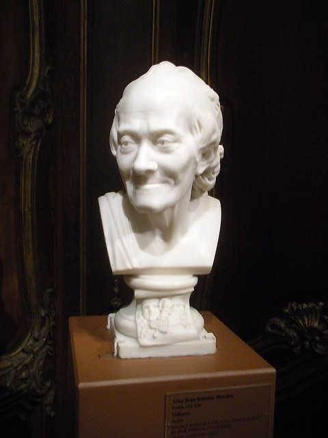Comparing voltaire and thomas jefferson