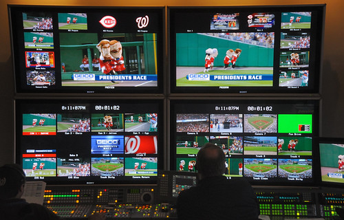 Presidents Race Video Control Room | by Photos from the blog at LetTeddyWin.com
