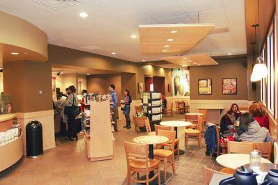 Starbucks Cafe Copyright Rutgers University Newark All