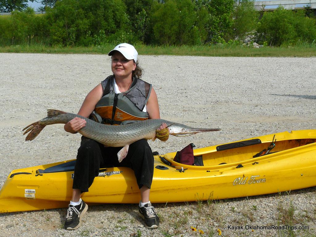 Gar fishing season in oklahoma chasing the catfish for Fishing in oklahoma