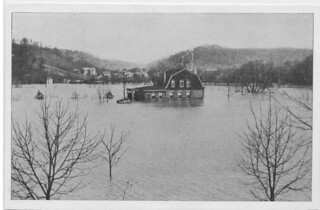 Flood of 1913: Unidentified house | by Ohio County Public Library