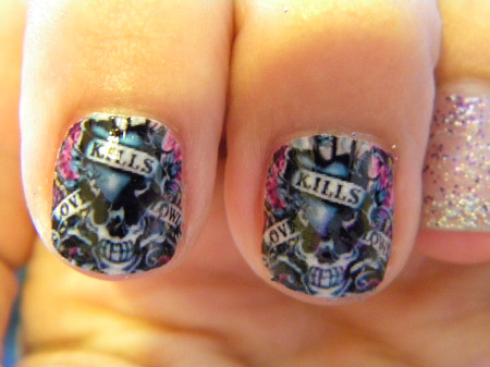 Ed Hardy Full Nail Decals Prettygirlygirl Sell For Flickr