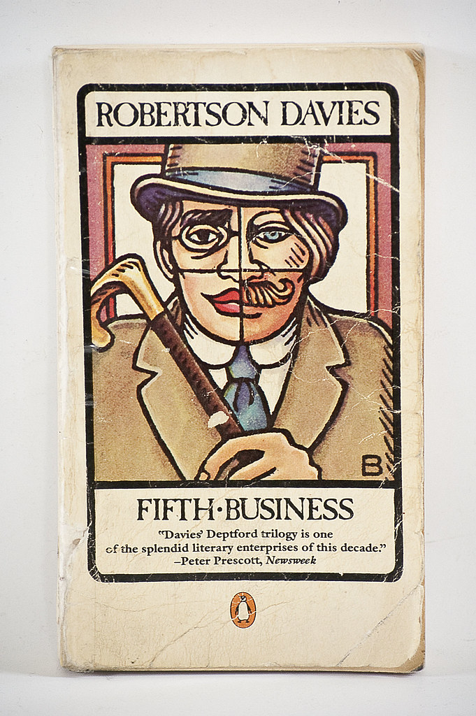 fifth business by robertson davies essay In the novel fifth business by robertson davies, boy staunton -a successful business man with a polished appearance but a tortured soul- took the ultimate plunge [] about us free essays.