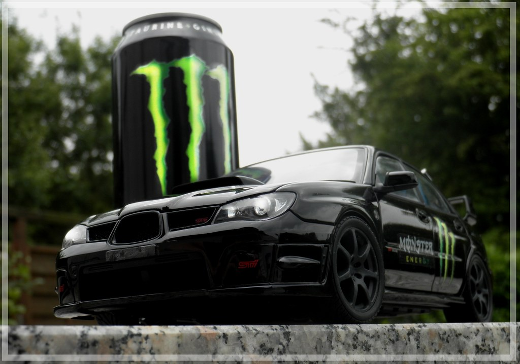 ... Subaru Impreza WRX STI U0027Monster Energy Drinku0027 | By Japanpower22