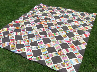 String X quilt top | by flossyblossy