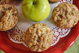 Apple Strusel Muffins | by yourhomebasedmom