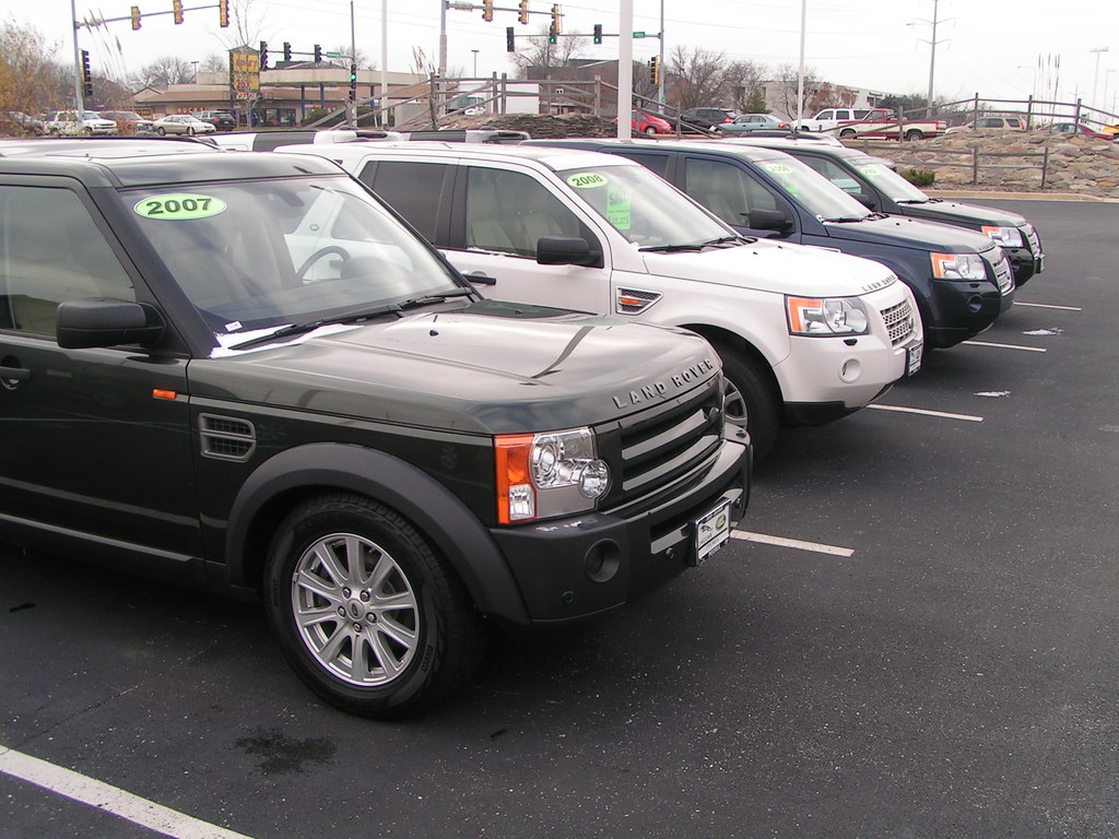 Used Land Rover Cars Uk