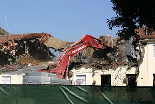 Demolition of Old Administration Building | by California State University Channel Islands