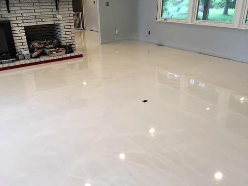 Basement Floor Ideas Concrete Stain