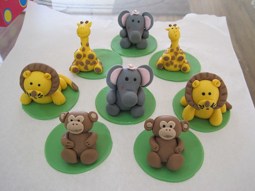 Safari Animals Cake Safari Animals Cupcake