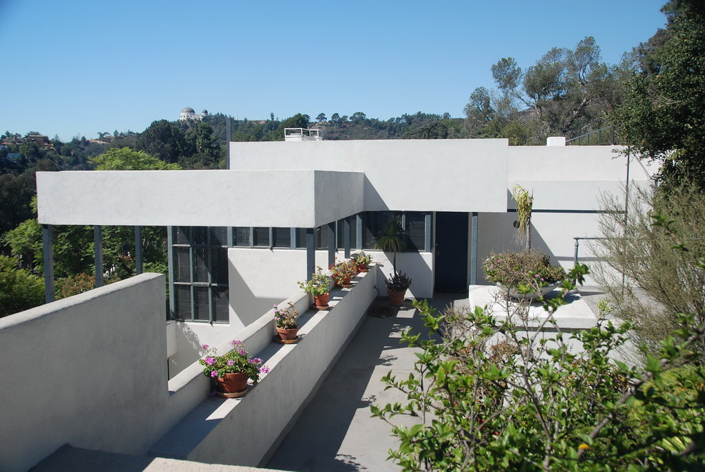 lovell house richard neutra architect 1929 richard. Black Bedroom Furniture Sets. Home Design Ideas