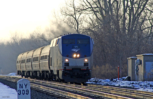 Amtrak Maple Leaf | Eastbound Maple leaf Amtrak 64 led by ...