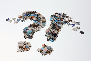 A question and exclamation mark of jigsaw puzzle pieces | by Horia Varlan