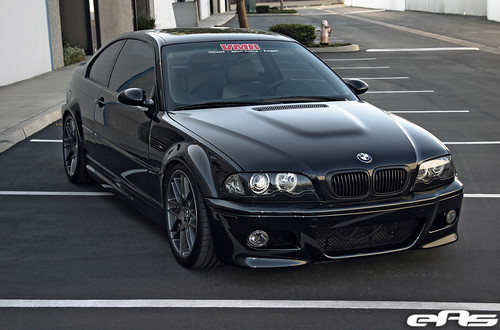 Black Bmw E46 M3 W Gunmetal Vb3 2 169 All Rights Reserved
