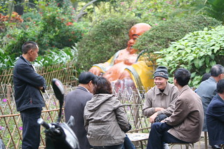 IMG_9533 Zhanjiang, China - Playing cards with Buddha | by HAKANU