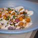 Butternut Squash and Chickpea Salad with Yogurt Dressing